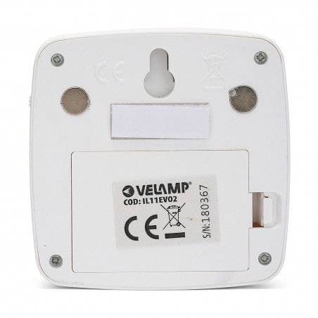 Punto luce 2 led a pile con rilevatore di movimento chic2 IL11EVO2 Luci per armadio Velamp