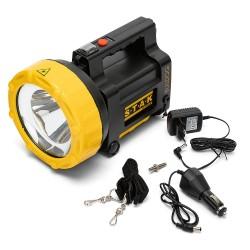 BULLDOG: 30W CREE LED rechargeable spotlight. USB powerbank,red blink R930 Velamp Jobsite spotlights