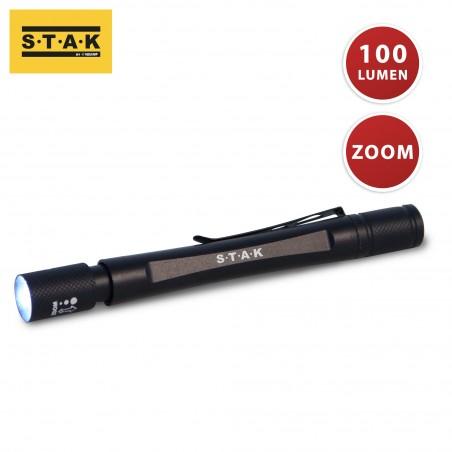 Penna led 5w a pile con zoom bangalore penlight ST004 Luci di ispezione Velamp