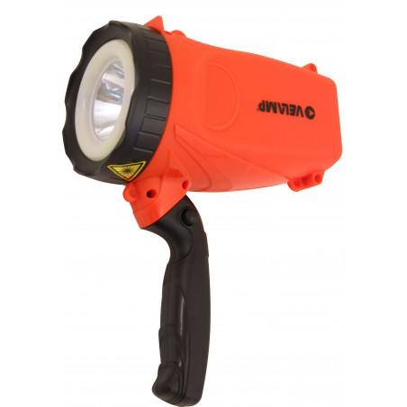 SUPER HORNET: 5W rechargeable spotlight + COB crown IR558 Velamp Jobsite spotlights