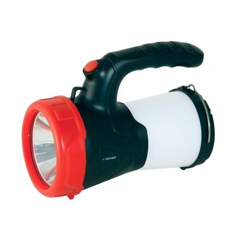 KERBEL: Faro LED ricaricabile 10W con lanterna. Con caricatore IR559 Fari da lavoro (spotlight) Velamp