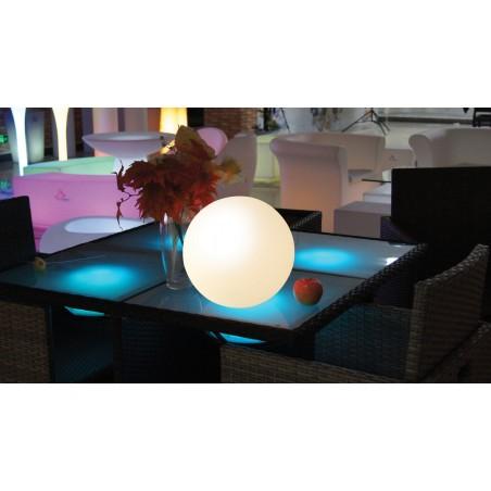 NOVA: Palla LED RGB ricaricabile con USB, Ø 25 cm TL2025 Luci decorative per il giardino Velamp