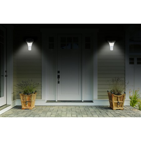 MALIS: aplique LED solar 200 lumen con detector IR SL320 Velamp IIluminacion con carga solar