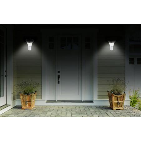 MALIS: applique LED solare 200 lumen con rilevatore di movimento SL320 Luci solari Velamp