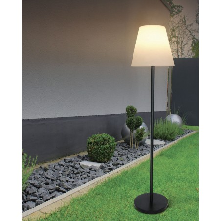 EXTENZA SOLAR: Solar charging RGB outdoor floorlamp-150 cm SL3432 Velamp Decorative lights for garden