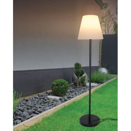 EXTENZA : Lampadaire extérieur IP65, culot E27, 150 cm TL3430 Spots extérieurs pour terrasses, escaliers, jardin... Velamp