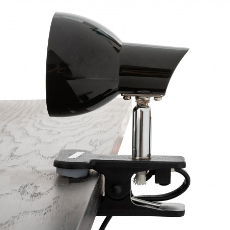 CHARLY: 24 LED spotlight with clip. 5W, 360 lm, 4000K. black TL1401-N Velamp Lamps with clip