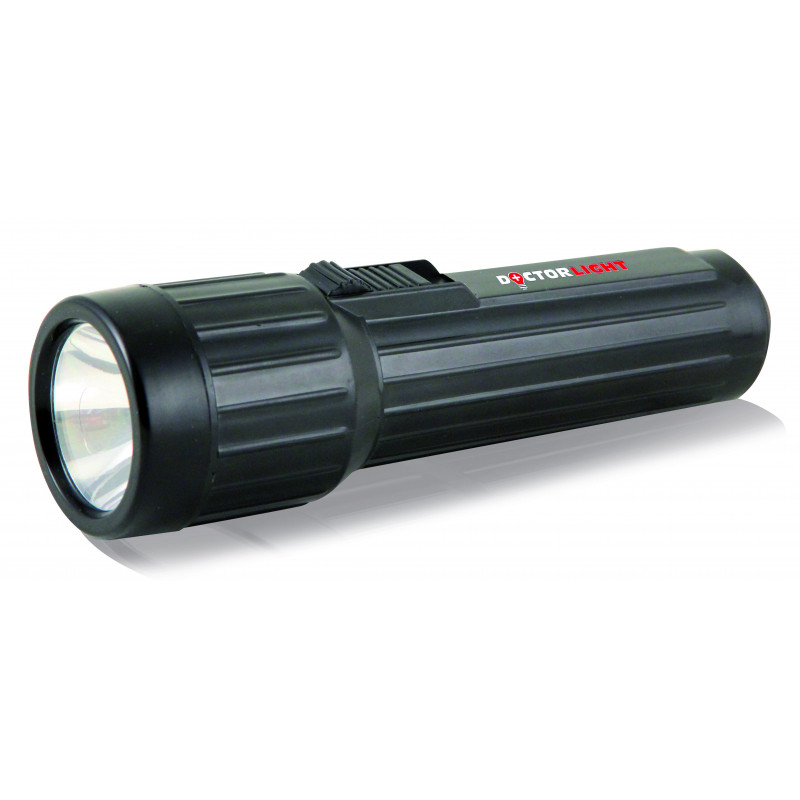 2d plastic led flashlight