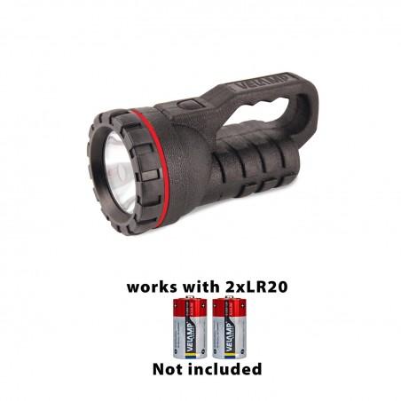 RUBBER LED: 0,5W natural rubber spotlight. Works with 2D. 100 hours light IRUB20LED Velamp Construction site lights
