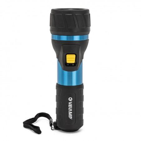 IMPULSE: 3W LED flashlight. Aluminium and rubber body. 2D IP06 Velamp Flashlights for domestic use