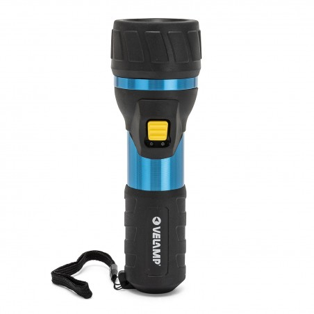IMPULSE: 3W LED flashlight. Aluminium and rubber body. 2D IP06 Velamp LED flashlights