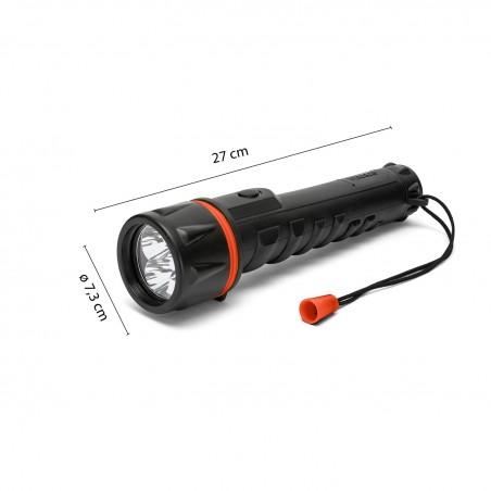 RUBBER LED: Torcia in gomma LED 3D IRUB3LED Torce Velamp