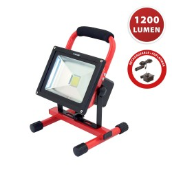 CYCLOP: worklight LED COB 20W, rechargeable IR867 Phares rechargeables Velamp