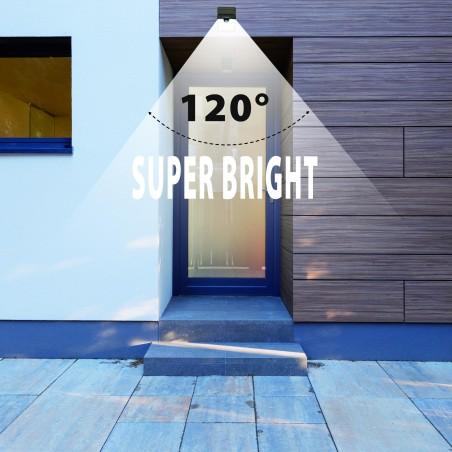 DORY: Eingangsleuchte mit Bewegungsmelder SL210 Solarbeleuchtung Velamp