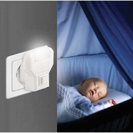 TWILIGHT: LED-Lichtpunkt mit EIN / AUS-Schalter IL09LED.012L Nachtlampen Velamp