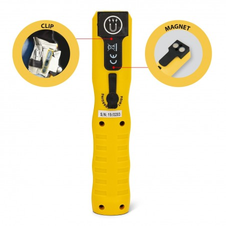 COMBO LIGHT 2: LED rechargeable worklight in PC. Hook and magnet IS409 Stak Heavy duty worklights