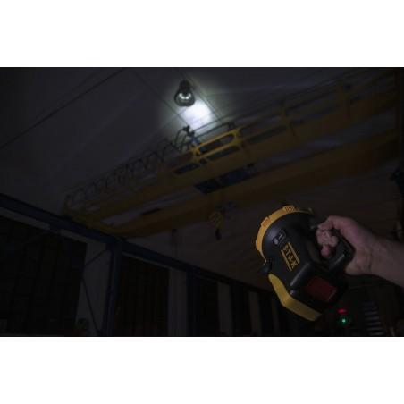 Faro torcia led ricaricabile led 20w cree 1600 lumen trainspotting R920.006S Fari da lavoro (spotlight) ricaricabili e a pile...