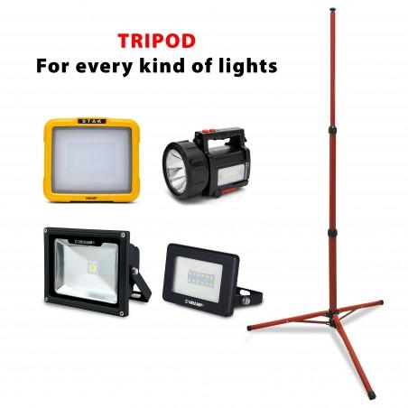 Trépied 2 mètres pour projecteurs TRIPOD-200 Trépieds et accessoires Velamp