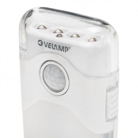 Lichtpunkt mit PIR + Verdunkelungslicht + Taschenlampe. Buchse H. R720H Nachtlampen Velamp