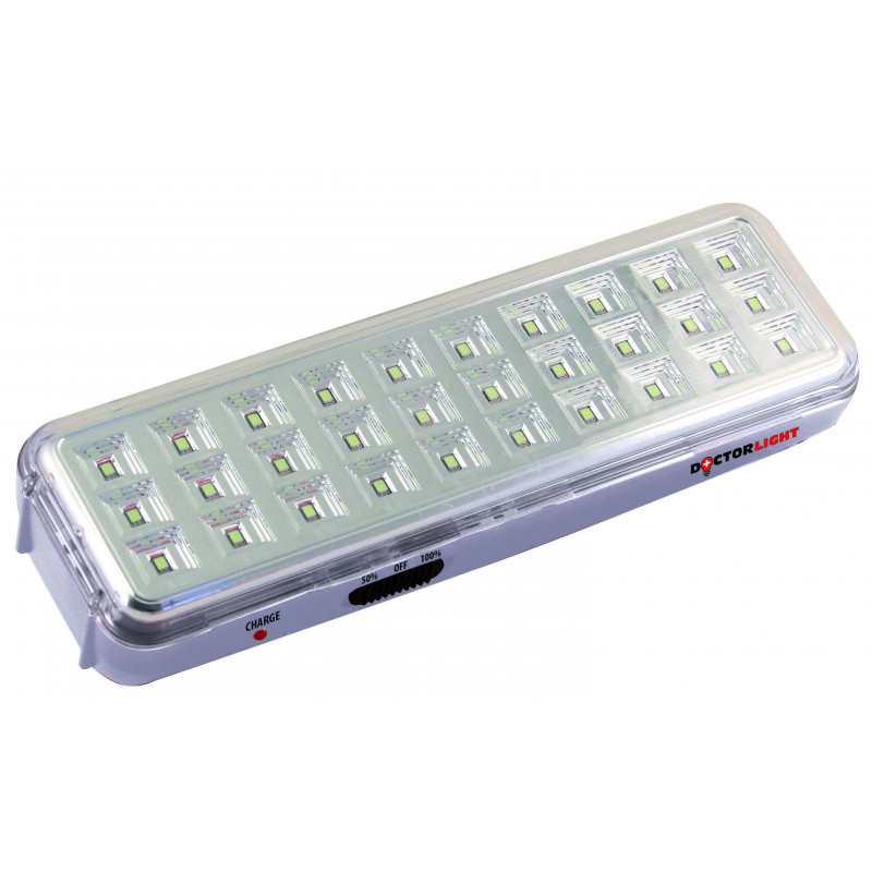 Lampada ricaricabile anti black out 30led smd