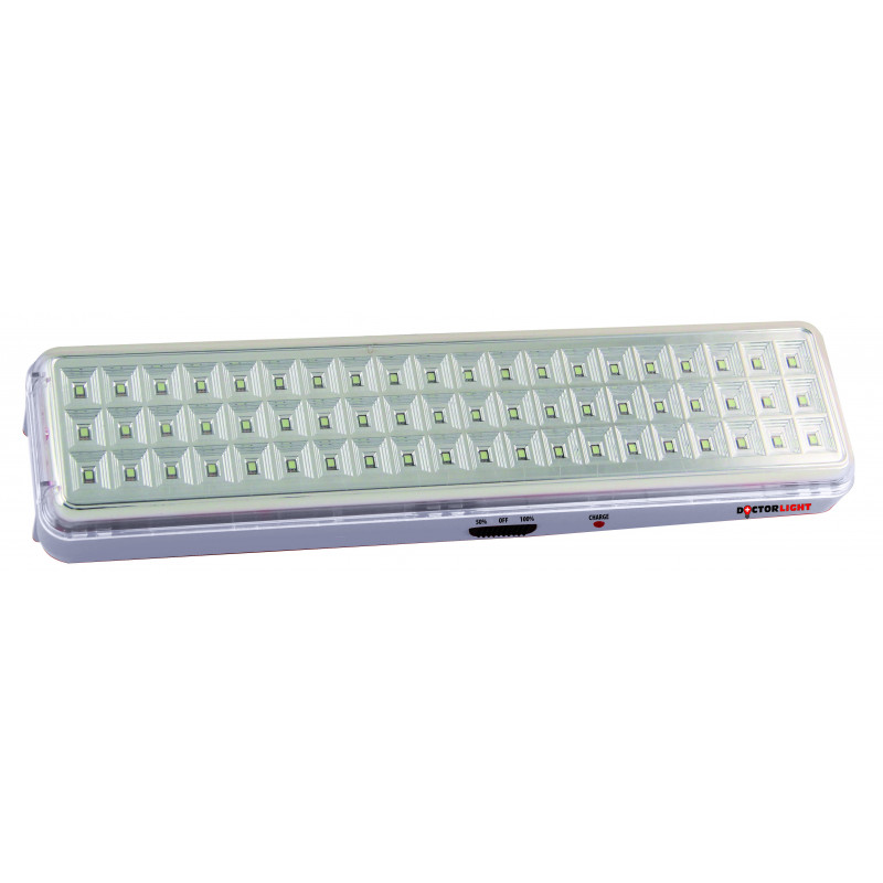 Lampada ricaricabile anti black out 60led smd