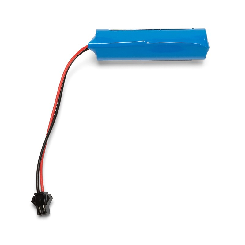 Batteria al litio ricaricabile 18650 3,7v 2200mah con connettore BATTIR666 Batterie litio Velamp