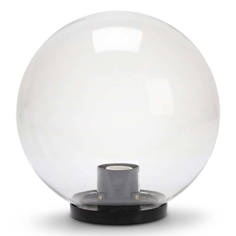 Sphère d'extérieur en PMMA, 250mm, E27, transparente SPH255 Sphères APOLUX transparentes Velamp