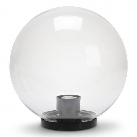 APOLUX: Sfera per esterno in PMMA, 250mm, E27, trasparente SPH255 Sfere trasparenti apolux Velamp