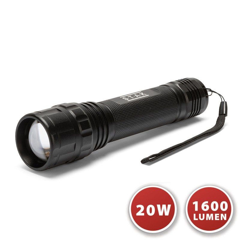 Torcia led cree 20w xhp50 con funzione zoom tiger ST337 Torce Velamp
