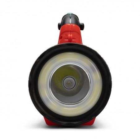 SUPER HORNET: Proyector LED recargable 5W con LED crown IR558 Velamp Luces de trabajo (foco)