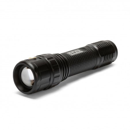 Torcia ricaricabile led cree 10w con funzione zoom panther IMR90 Torce Velamp