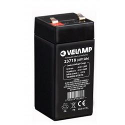 Rechargeable lead acid batteries 4V 1Ah