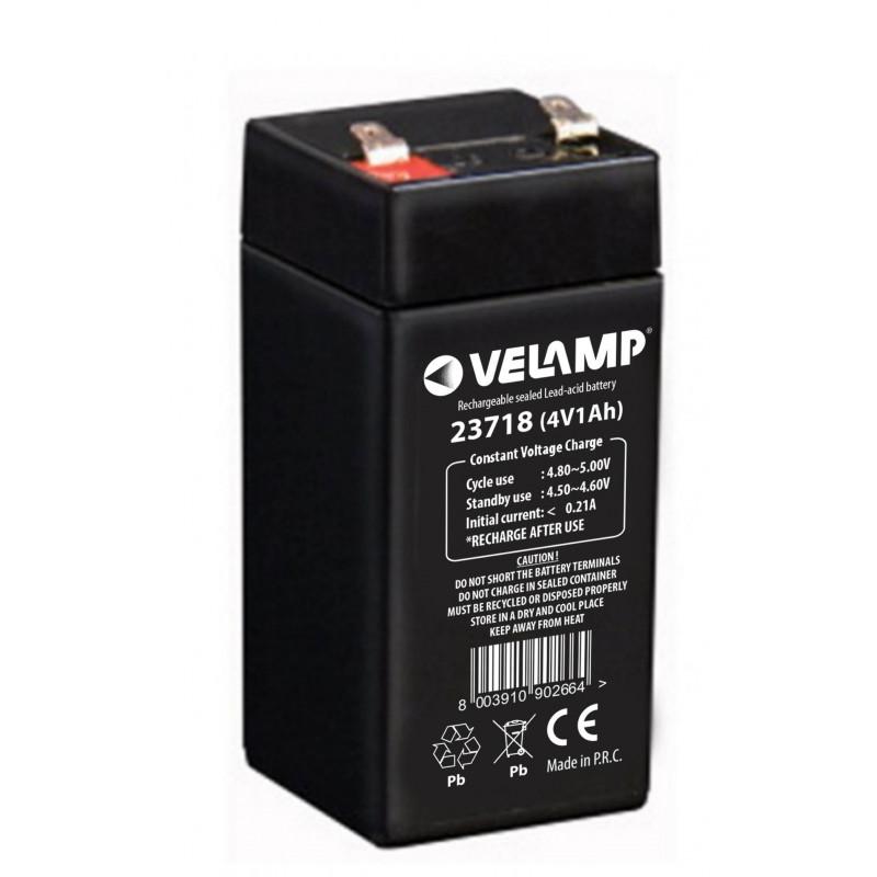 Batteria piombo 4v 1ah
