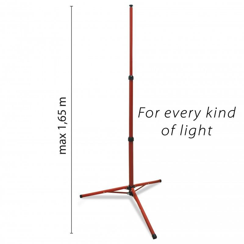 Treppiede estensibile altezza 1,5 mt per proiettori TRIPOD.001S Treppiedi Velamp