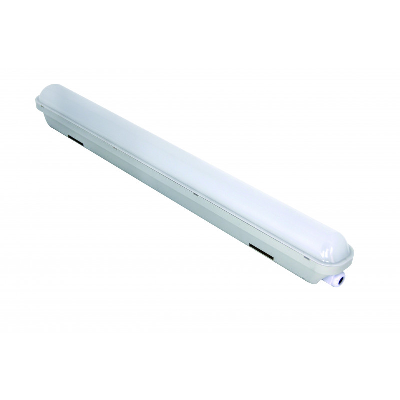 Plafoniera stagna slim led 10w:900lumen
