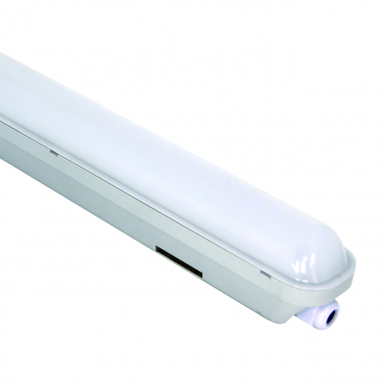 Plafoniera stagna slim led 20w 1800lumen