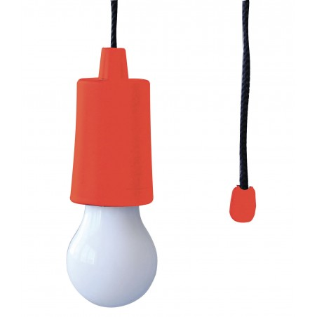 RETRO': LED bulb with red cord IL84-R Velamp Closet lights