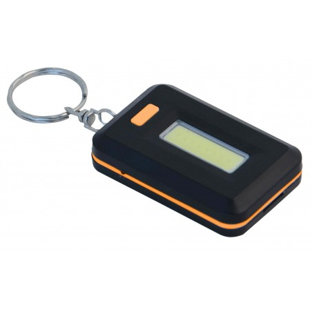 TICKET: COB LED key ring. 3 AAA batteries (not included) IN233 Velamp LED flashlights