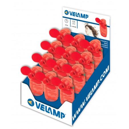 Mini fan, battery operated IN292 Velamp Pocket fans