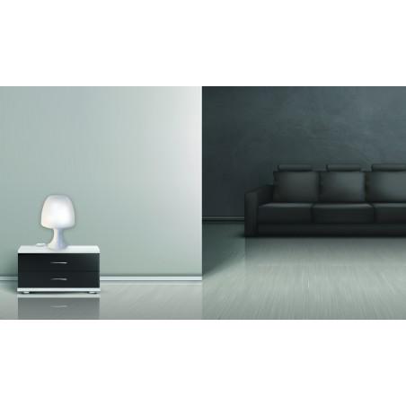 MUSHROOM: White table lamp with E14 socket TL1010-B Velamp Decorative lamps