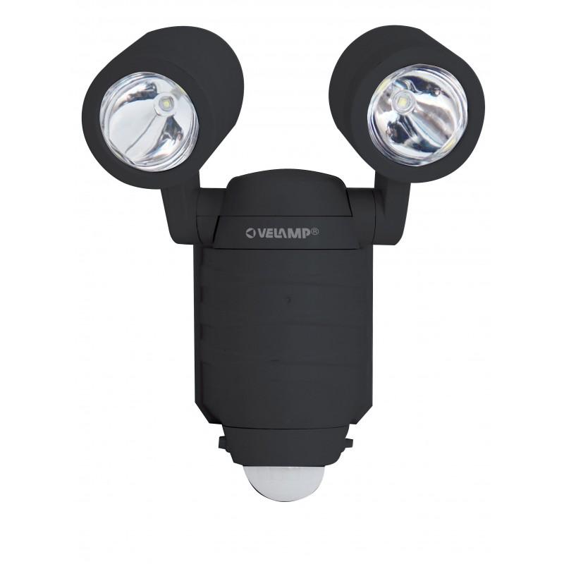 FROG: projecteur d'extérieur LED à piles. Détecteur de mouvements.IP44 IS352.006S Projecteurs d'extérieur Velamp