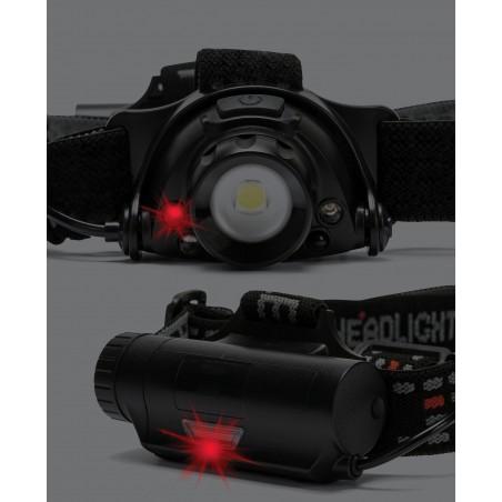 KAIZER: Lampada da testa ricaricabile 10W 900 lumen, con zoom ST201 Torce e luci da lavoro per il professionista Stak