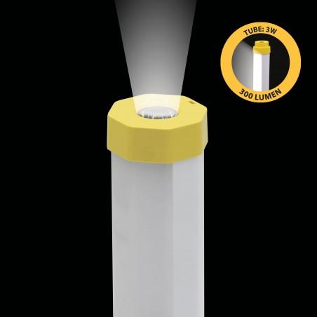 LUMIBAR: Luz de trabajo tubular de 300lm + linterna + powerbank. Recargable ST177 Stak Linternas LED
