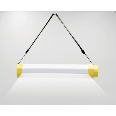 LUMIBAR: 300lm röhrenförmiges Arbeitslicht + Taschenlampe + Powerbank. Wiederaufladbar ST177 LED Taschenlampen Stak