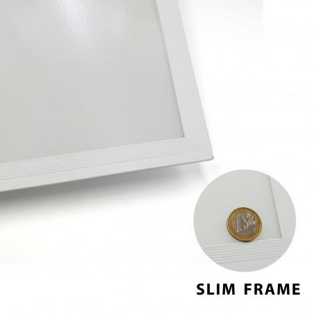 ICEBERG: Panneau LED 60x60 Backlight, 3800 lumen, 4000K. blanc PANLED05-4000K Panneaux LED Velamp