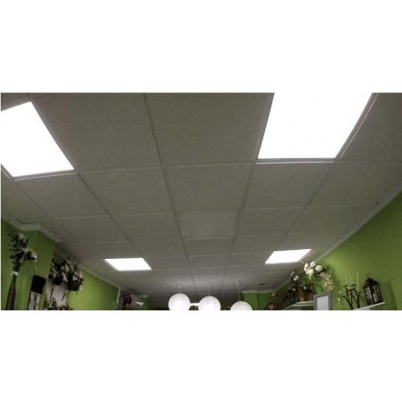 ICEBERG: 60x60 LED-Panel mit Hintergrundbeleuchtung, 3800 Lumen, LOW UGR, 4000K. Weiß PANUGR-4000K Innenbeleuchtung Velamp
