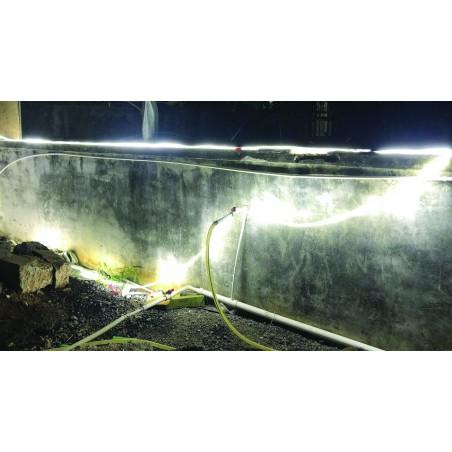 RibbON: striscia LED IP65 25.000 lumen. Con avvolgitore. 25m ST904 Luci 360° per il cantiere Stak