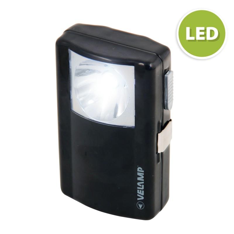 LANTERNETTE EVO: LED metal pocket lamp, 1*3R12 (not included) ID72LED Velamp LED flashlights