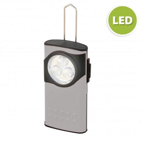 COMPACT2: Mini lanterna 3 LED D64 Velamp Linternas LED