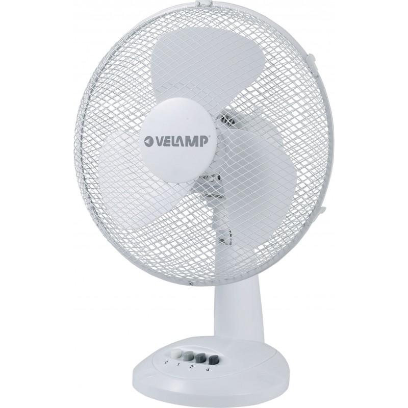 Ventilatore da tavolo 30 cm in plastica alize3 bianco VENT-P30T3 Ventilatori da tavolo Velamp